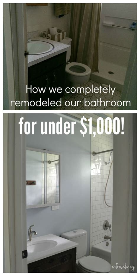 bathroom remodel   budget  reclaimed materials