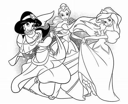 Coloring Pages Ariel Mermaid Birthday Happy Princess