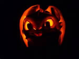 Free Toothless Pumpkin Carving Patterns by Dragon Pumpkin Toothless The Dragon By Poisonedrose12