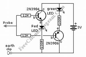 simple discrete logic probe circuit wiring diagrams With simple emf probe