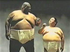 Extremely Funny commercial Sumo - YouTube