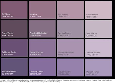 shades of purple paint monstermathclub