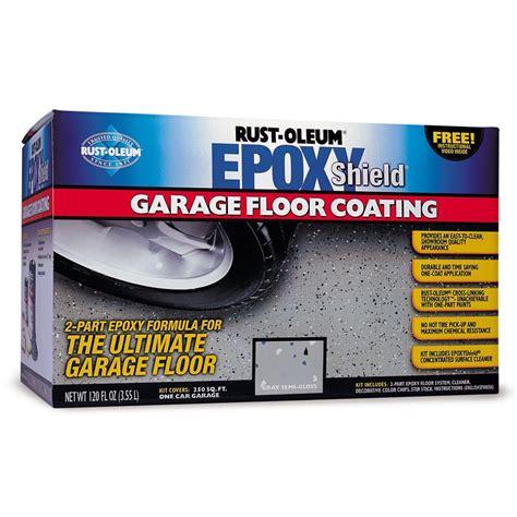 rustoleum garage floor coating kit rust oleum epoxy shield garage floor paint kit rawlins