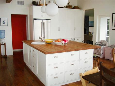 countertop for kitchen island wood kitchen countertops pictures ideas from hgtv hgtv