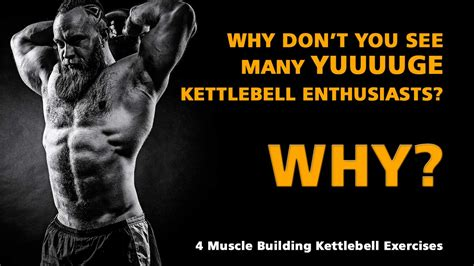 kettlebell building muscle exercises don why kettlebells caveman enthusiasts huge many single arm