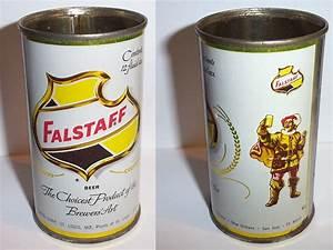 Vintage Falstaff Beer Can - Classic Shield & Sir Falstaff ...