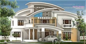 luxury home design plans 3750 square luxury villa exterior kerala home