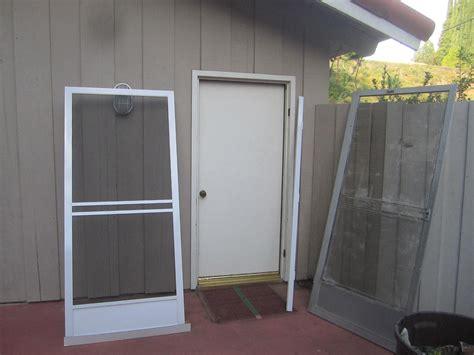 how to rescreen a sliding patio door sliding screen door