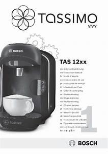 Mode D U0026 39 Emploi Machine  U00e0 Caf U00e9 Bosch Tas1253 Tassimo Trouver