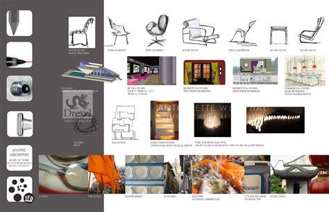 portfolio design for students interior design portfolio exles portfolio