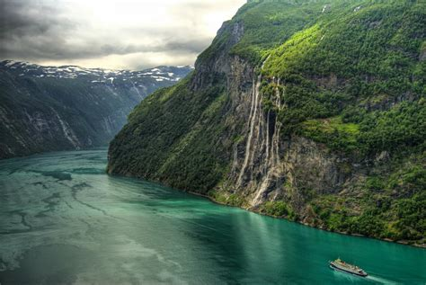 Lets Enjoy The Beauty Geiranger Fjord Norway