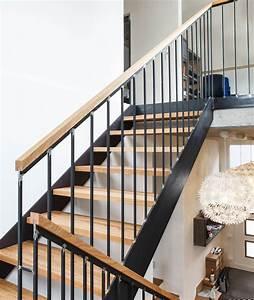 Stahl Holz Treppe : treppen ~ Markanthonyermac.com Haus und Dekorationen