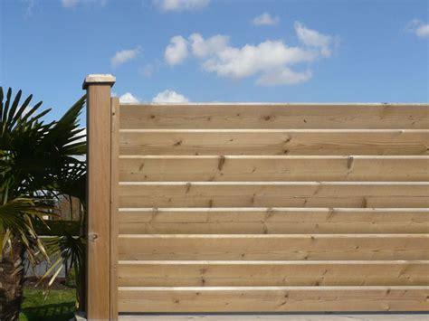 palissade en bois exterieur palissade bois exterieur pas cher wasuk