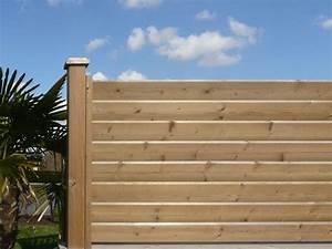 Panneau De Cloture En Bois : cloture bois autoclave ~ Premium-room.com Idées de Décoration