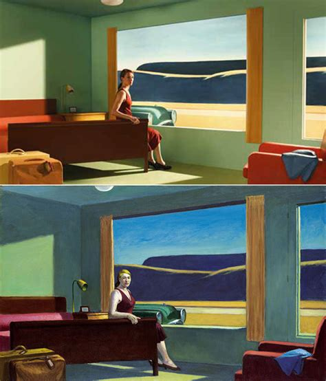 edward hopper paintings recreated  sets  indie