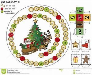 Weihnachtsspiel Stock Abbildung Bild Von Feiertag