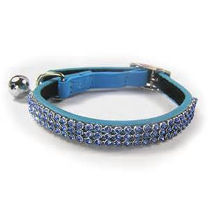 cat collars blue leather cat collar coolcatcollars co uk