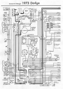 Electrical Wiring Diagram Of 1973 Dodge Coronet And Charger Part 2  59842