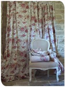 Rideaux Style Romantique : double rideaux style provencal modificare una pelliccia ~ Melissatoandfro.com Idées de Décoration