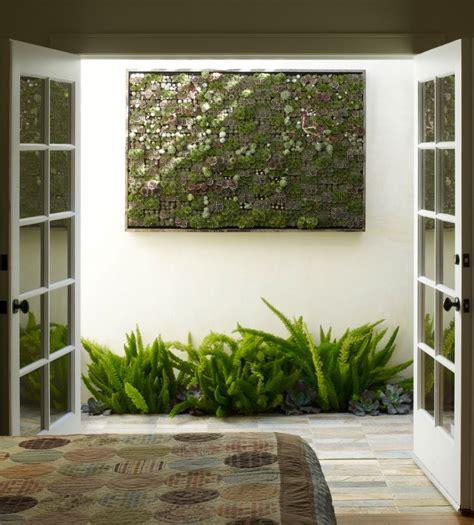 interior wall hanging garden minature succulents olpos