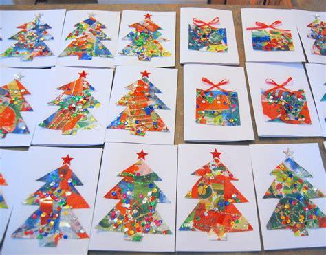 christmas card craft ks2 cards workshop sold out bridport arts