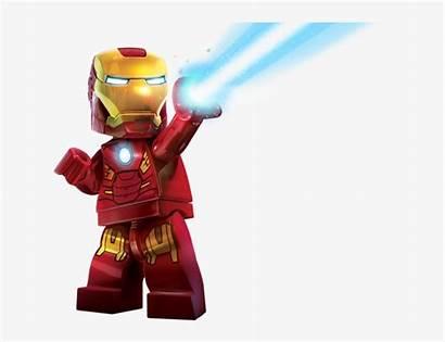 Lego Iron Super Clipart Marvel Heroes Avengers
