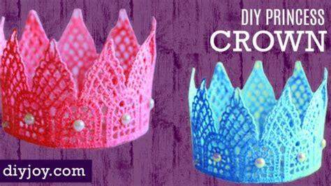 adorable diy princess crown