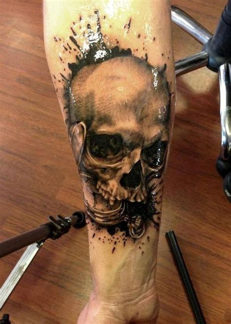 amazing   cool skull tattoo designs golfiancom
