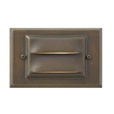 Home Depot Recessed Deck Lighting by Hinkley Lighting Matte Bronze Recessed Led Outdoor Deck