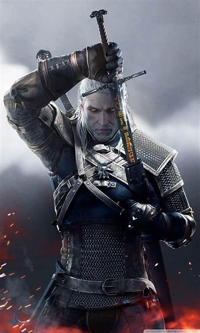 Witcher Geralt Smartphone Hunt Wild Desktop Tablet