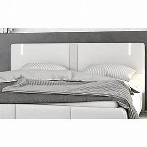 Sofa Mit Lautsprecher : innocent polsterbett aus kunstleder wei 180x200cm mit led und lautsprecher ricci mit lattenrost ~ Indierocktalk.com Haus und Dekorationen