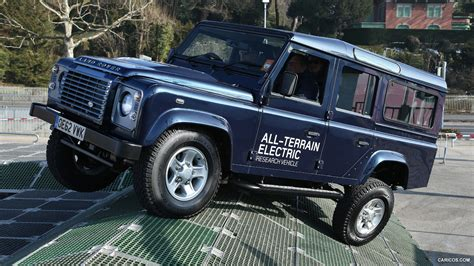 2018 Land Rover Electric Defender Concept Off Road