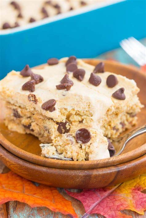 bake pumpkin chocolate chip icebox cake recipe