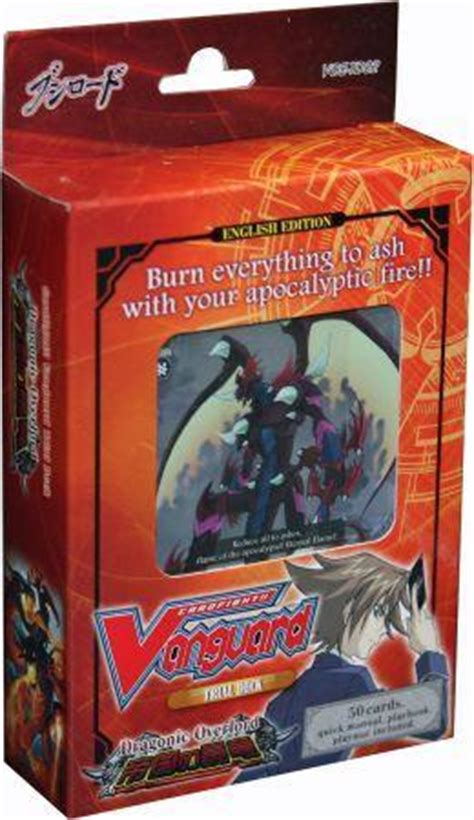 Vanguard Trial Deck 1 by Trial Deck 2 Dragonic Overlord Starter Deck Cardfight