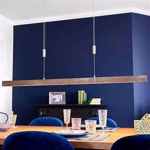 Wooden, Led, Linear, Pendant, Light, Nora, Dimmable