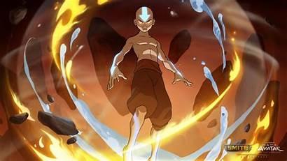 4k Aang Avatar Smite Airbender Last Air