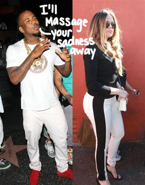 Khloe Kardashian Parties All Night With The Game As He ...