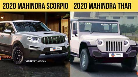 mahindra scorpio  thar   debut