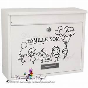 Etiquette Pour Boite Aux Lettres : stickers boites aux lettres les mur murs d angel ~ Dailycaller-alerts.com Idées de Décoration