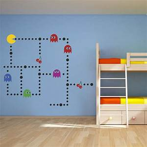 10 awesome video game themed bedrooms room bath With awesome video game wall decals