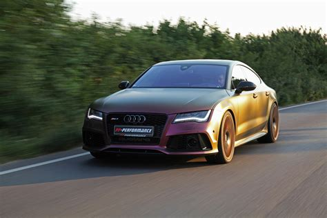 pp performance reveals  special  redesigned audi rs