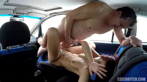 Real Czech Prostitute Takes Money For Car Sex Free Porn 7b