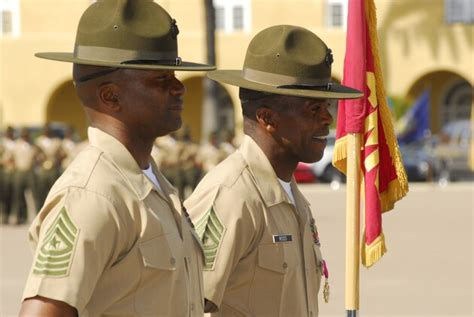 recruit depot sees change  senior enlisted leadership