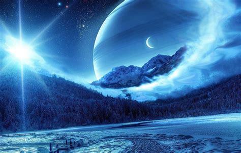 炫彩意境宇宙星球壁纸_美丽神秘的星球_风景壁纸_
