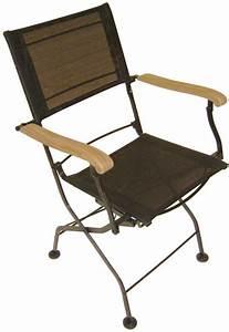 Fauteuil Fer Forgé : fauteuils pliants en fer forg et textil ne lot de 2 noir ~ Teatrodelosmanantiales.com Idées de Décoration