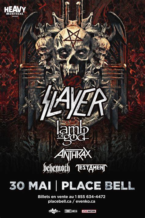 Slayer tour 2018 – Jukebox:Metal