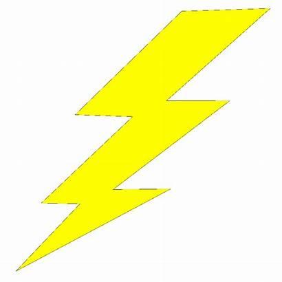 Bolt Lightning Cartoon Lightening Thunder Electric Clip