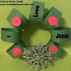 i love jesus christmas wreath craft