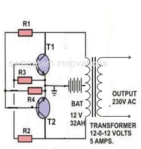 Make Watt Inverter Circuit Digest