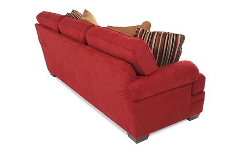 Broyhill Landon Sofa by Broyhill Landon Red Sofa Mathis Brothers Furniture